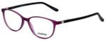 Seventeen Designer Eyeglasses SV5404-MPU in Matte Purple/Black 51mm :: Rx Single Vision
