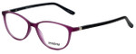 Seventeen Designer Eyeglasses SV5404-MPU in Matte Purple/Black 51mm :: Rx Bi-Focal