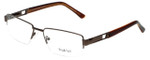 Big and Tall Designer Eyeglasses Big-And-Tall-7-Brown in Brown 60mm :: Custom Left & Right Lens