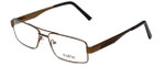 Big and Tall Designer Eyeglasses Big-And-Tall-2-Brown-Black in Brown Black 60mm :: Rx Single Vision