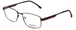 Big and Tall Designer Eyeglasses Big-And-Tall-16-Brown in Brown 59mm :: Progressive