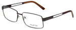 Big and Tall Designer Eyeglasses Big-And-Tall-6-Matte-Brown in Matte Browne 61mm :: Progressive