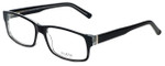 Big and Tall Designer Eyeglasses Big-And-Tall-3-Black-Crystal in Black Crystal 60mm :: Rx Bi-Focal