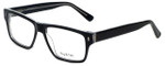 Big and Tall Designer Reading Glasses Big-And-Tall-13-Black-Crystal in Black Crystal 58mm