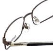 Reebok Optical Designer Reading Glasses R1007-GBK in Gunmetal Black Crystal