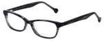 eyeOS Designer Eyeglasses Tamy in Dark Ash 50mm :: Progressive