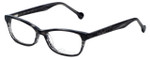 eyeOS Designer Eyeglasses Tamy in Dark Ash 50mm :: Rx Bi-Focal