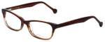eyeOS Designer Eyeglasses Tamy in Rosewood 50mm :: Rx Bi-Focal