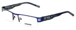 Renoma Designer Eyeglasses R1020-2210 in Blue 54mm :: Rx Single Vision