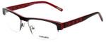 Renoma Designer Eyeglasses R1072-9230 in Red 56mm :: Rx Bi-Focal