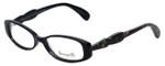 Betsey Johnson Designer Eyeglasses Rosebuds BV110-01 in Black 51mm :: Custom Left & Right Lens