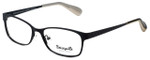 Betsey Johnson Designer Eyeglasses Gingham BV106-01 in Raven 51mm :: Rx Single Vision