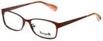 Betsey Johnson Designer Eyeglasses Gingham BV106-02 in Bronze 51mm :: Rx Single Vision