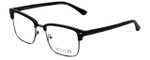 Calabria Viv Designer Eyeglasses Vivid-257 in Black 52mm :: Custom Left & Right Lens