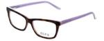 Ecru Designer Eyeglasses Springfield-017 in Tortoise-Purple 53mm :: Progressive