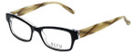 Ecru Designer Eyeglasses Stefani-028 in Ink 50mm :: Progressive