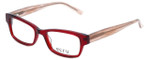 Ecru Designer Reading Glasses Stefani-030 in Lipstick 50mm