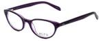 Ecru Designer Eyeglasses Daltrey-006 in Purple 50mm :: Custom Left & Right Lens