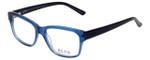 Ecru Designer Eyeglasses Collins-038 in Blue 53mm :: Progressive