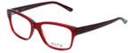 Ecru Designer Eyeglasses Collins-062 in Red 53mm :: Progressive