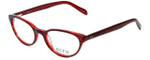 Ecru Designer Eyeglasses Daltrey-005 in Red 50mm :: Progressive
