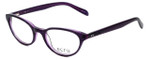 Ecru Designer Eyeglasses Daltrey-006 in Purple 50mm :: Progressive