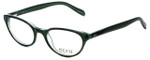 Ecru Designer Eyeglasses Daltrey-007 in Green 50mm :: Progressive