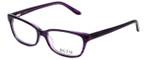 Ecru Designer Eyeglasses Beck-006 in Purple 53mm :: Custom Left & Right Lens
