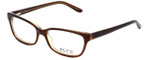 Ecru Designer Eyeglasses Beck-004 in Brown 53mm :: Rx Single Vision