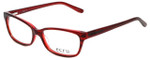 Ecru Designer Eyeglasses Beck-005 in Red 53mm :: Progressive