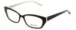 Ecru Designer Eyeglasses Bowie-002 in Brown 50mm :: Progressive