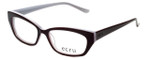 Ecru Designer Reading Glasses Bowie-003 in Purple 50mm