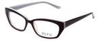 Ecru Designer Reading Glasses Bowie-003 in Purple 50mm