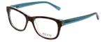 Ecru Designer Eyeglasses Morrison-050 in Tortoise-Blue 51mm :: Custom Left & Right Lens
