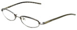 Burberry Designer Eyeglasses B-8911-J20 in Silver 48mm :: Custom Left & Right Lens