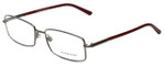 Burberry Designer Eyeglasses B1239-1003 in Gunmetal 54mm :: Rx Single Vision