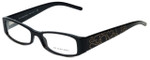 Burberry Designer Eyeglasses B2089-3001 in Black 52mm :: Rx Single Vision