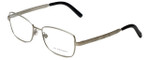 Burberry Designer Eyeglasses B1259-Q-1159 in Silver 52mm :: Progressive