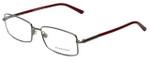 Burberry Designer Eyeglasses B1239-1003 in Gunmetal 54mm :: Rx Bi-Focal