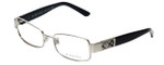 Burberry Designer Eyeglasses B1092-1005 in Silver & Black 51mm :: Custom Left & Right Lens