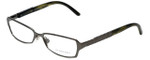 Burberry Designer Eyeglasses B1141-1057 in Dark Gunmetal 51mm :: Custom Left & Right Lens