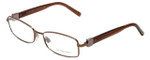 Burberry Designer Eyeglasses B1145-1016 in Gold & Brown 53mm :: Rx Single Vision