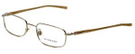 Burberry Designer Eyeglasses B1007-1002 in Gold 50mm :: Rx Bi-Focal