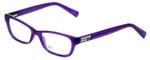 Giorgio Armani Designer Eyeglasses AX3008-8009 in Bright Grape Transparent 49mm :: Custom Left & Right Lens