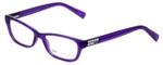 Giorgio Armani Designer Reading Glasses AX3008-8009 in Bright Grape Transparent 49mm