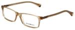 Emporio Armani Designer Eyeglasses EA3005-5084 in Opal Brown Pearl 53mm :: Custom Left & Right Lens