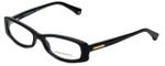 Emporio Armani Designer Eyeglasses EA3007-5017 in Black 51mm :: Custom Left & Right Lens
