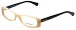 Emporio Armani Designer Eyeglasses EA3007-5087 in Opal Beige 53mm :: Custom Left & Right Lens