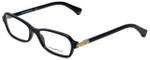 Emporio Armani Designer Eyeglasses EA3009-5017 in Black 52mm :: Custom Left & Right Lens