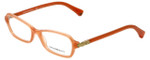 Emporio Armani Designer Eyeglasses EA3009-5083 in Opal Coral 52mm :: Custom Left & Right Lens